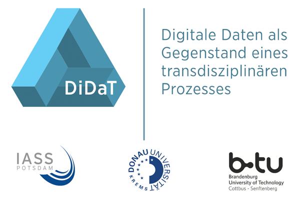 DiDaT - Digitale Daten als Gegenstand eines transdisziplinären Prozesses