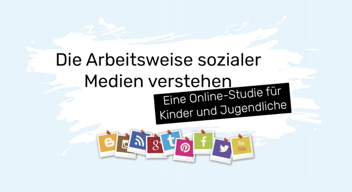"""Studie """"Arbeitsweise sozialer Medien verstehen"""""""